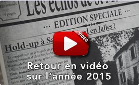 Revivez l'année en vidéo