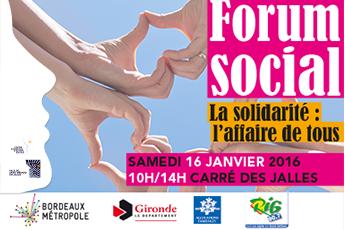 Forum social à Saint-Médard-en-Jalles