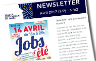 newsletter d'avril