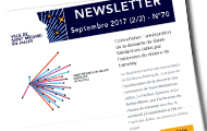 newsletter de septembre