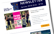 newsletter de janvier