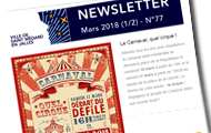 newsletter de mars
