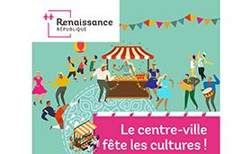 Le centre-ville fête les cultures