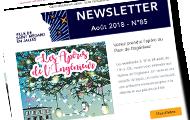 newsletter d'août