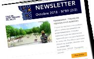 newsletter d'octobre