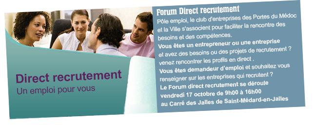 forum rencontre et recrutement