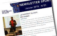 newsletter sport de janvier