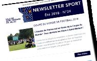 newsletter sport d'été