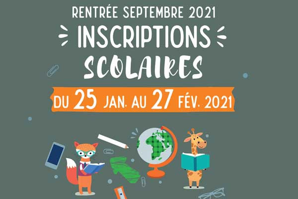 Inscription scolaire 2021 miniature