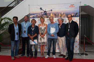 Christophe Lambert au festival Ciné Drones
