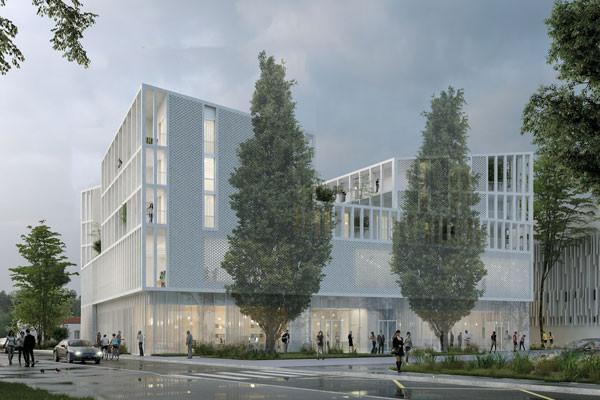 nouveau bâtiment PMF