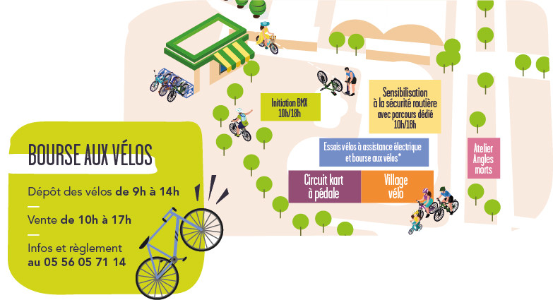 Plan Fête du vélo 2019