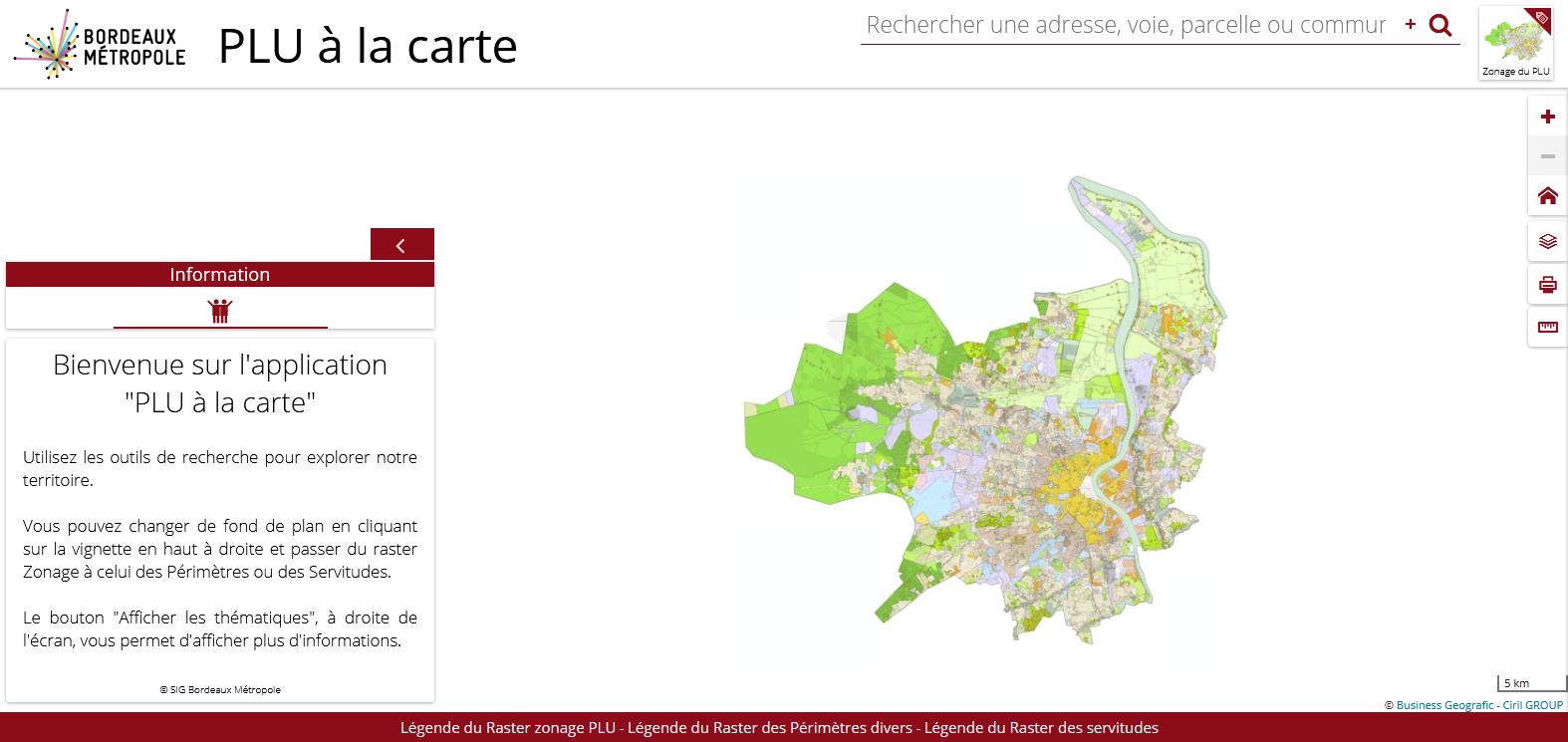 Urbanisme - PLU à la carte