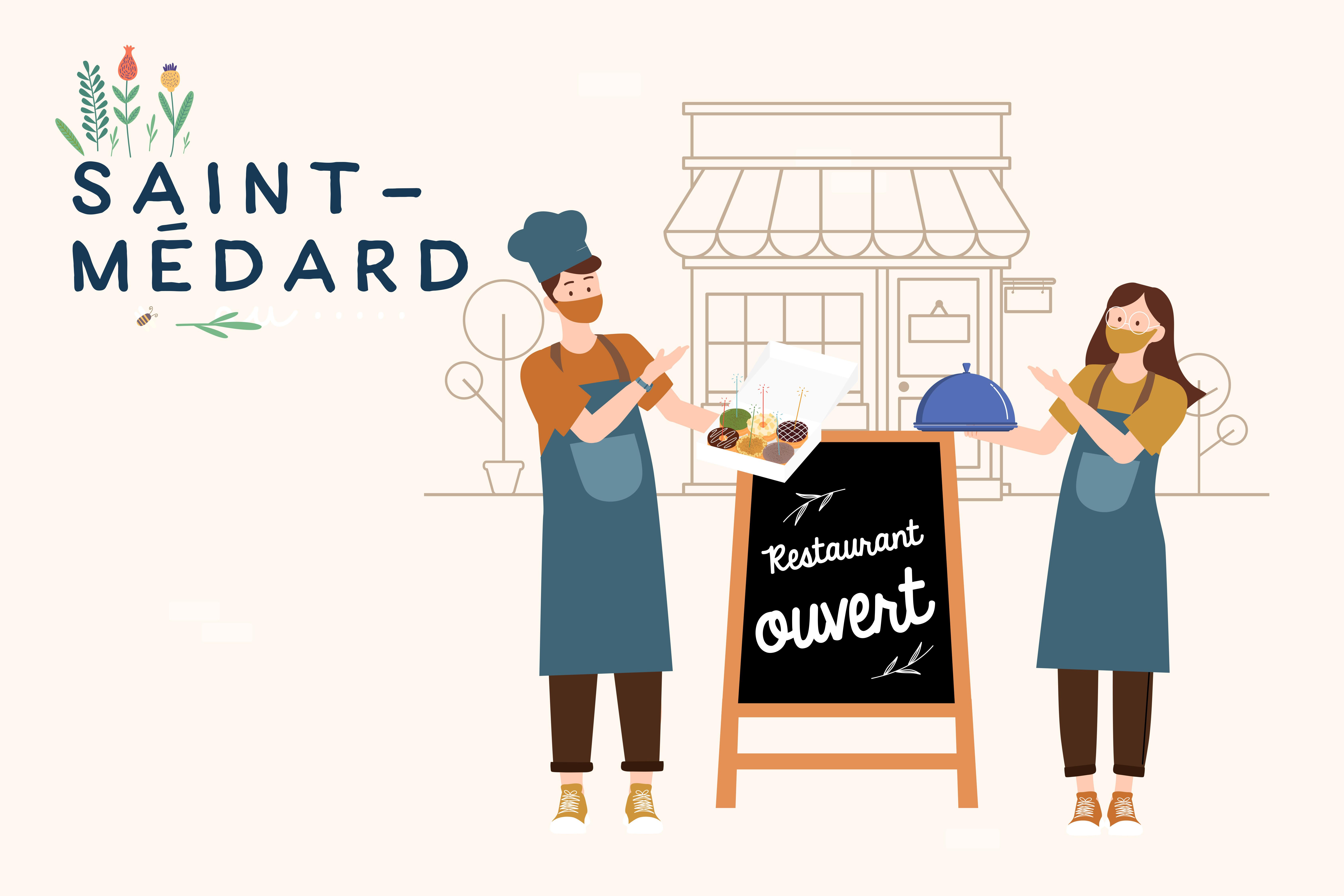 Restaurants ouverts à Saint-Médard-en-Jalles